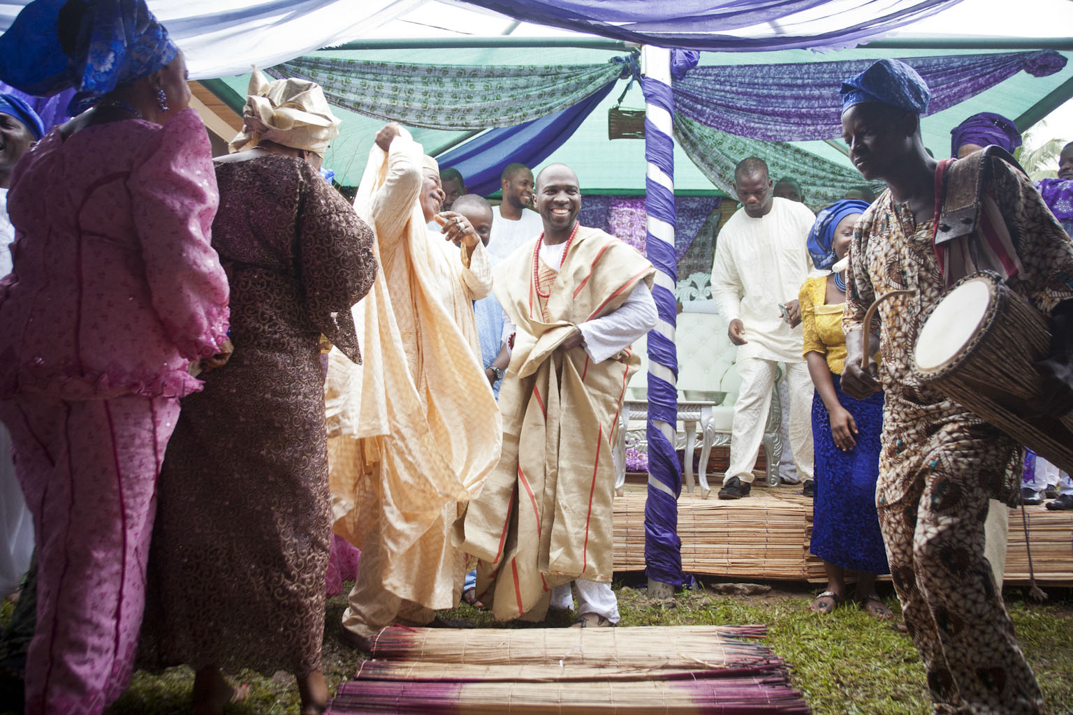 Nuptials In Nigeria Part III Traditional Yoruba Ceremony Adventures Of A Destination